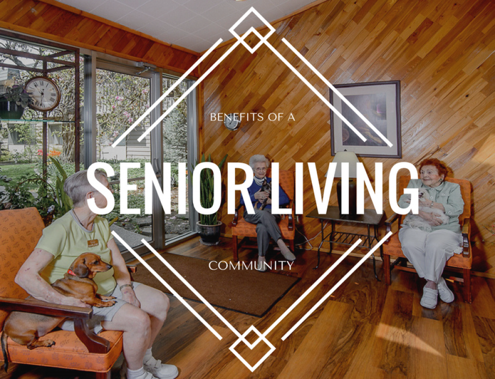 The Five Benefits of Joining a Senior Living Community