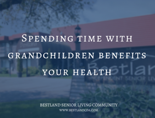 Spending time with grandchildren benefits your health