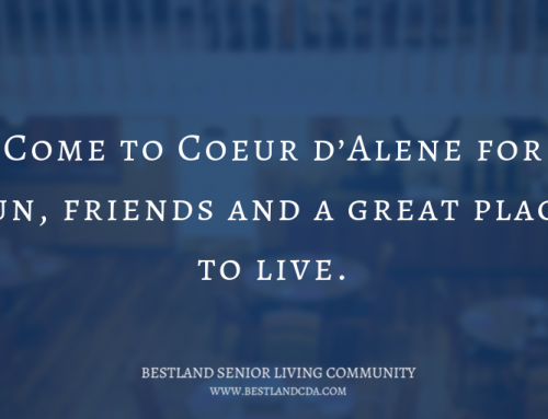 Come to Coeur d'Alene for fun, friends and a great place to live.